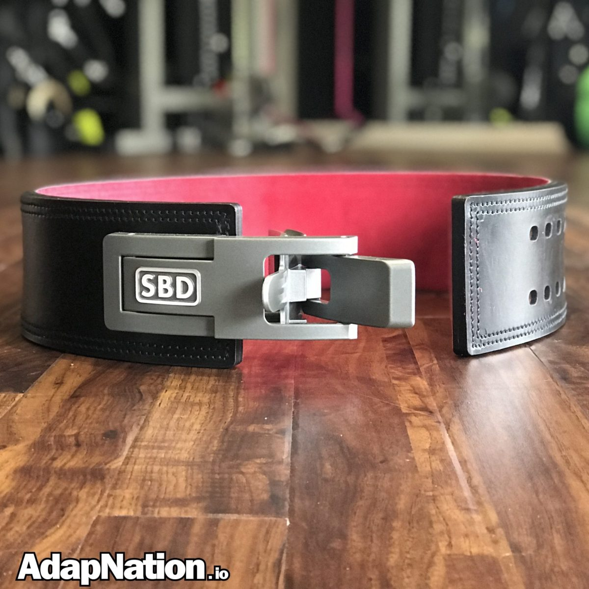 The SBD Belt -- The Daddy of Strength Training Belts