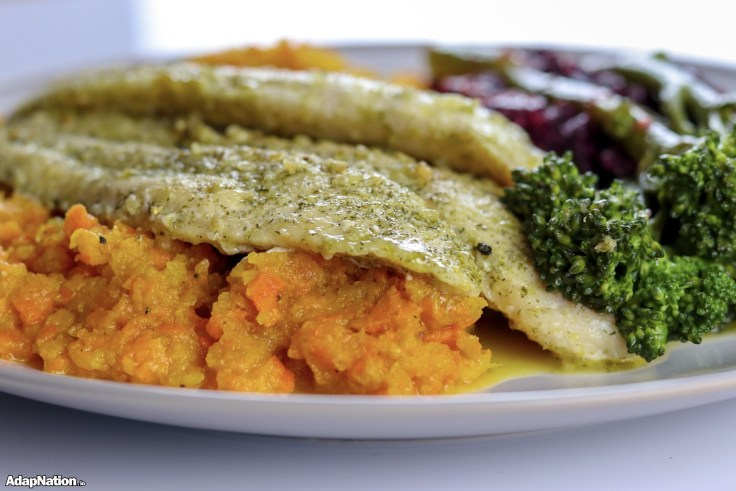 Basa Fillets, Root Vegetable Mash & Superfood Veg