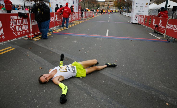 Marathon Exhaustion