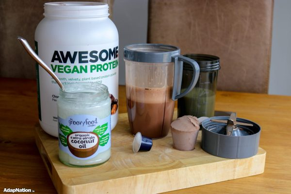 "Steve's ""Awesome"" Morning Fuel - When Vegan Protein, Healthy Oils & Espresso Collide!"