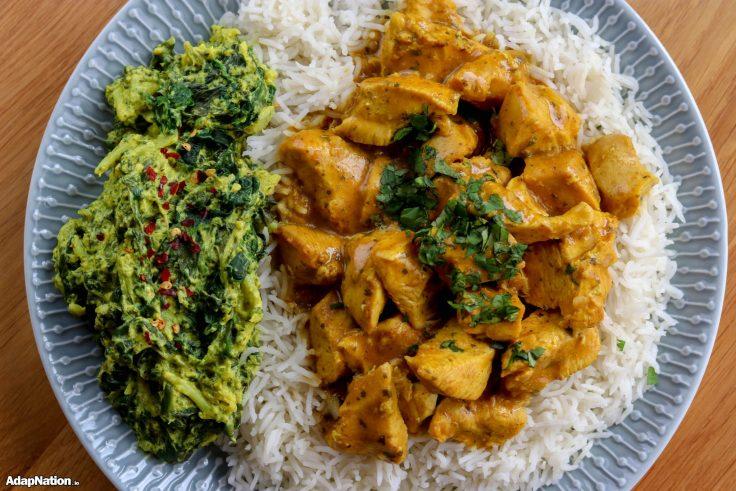 Butter Chicken & Spicy Broccoli Saag p3
