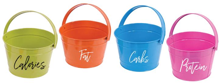 4 Buckets Macro Targets