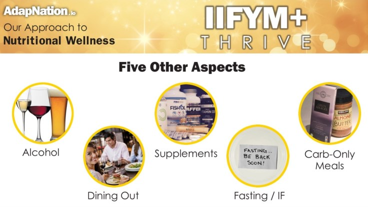 AdapNation - IIFYM+ Thrive - 5 Other Aspects Image