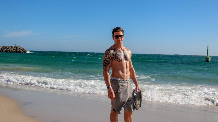 Australia beach body pic
