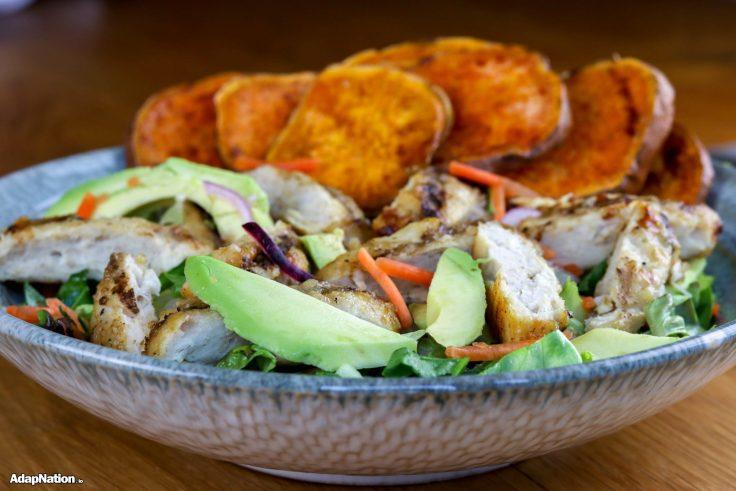 Chicken & Avo Salad with SP Crisps p2