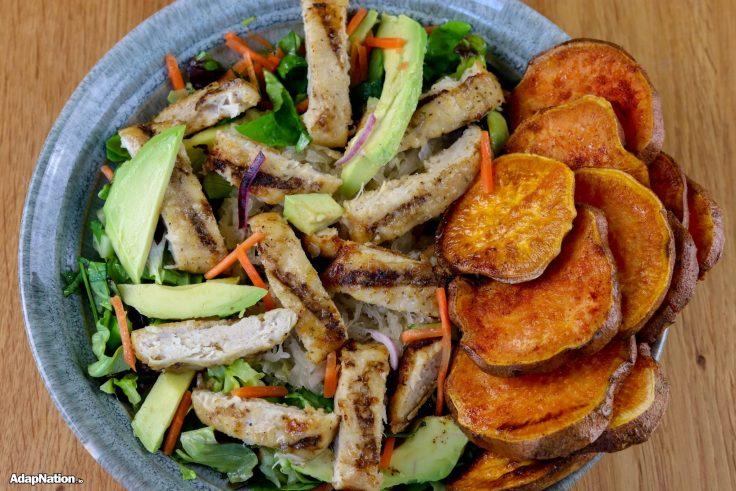 Chicken & Avo Salad with SP Crisps p3