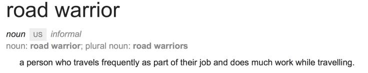 Road Warrior Definition