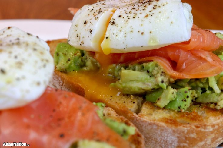 Avo Sourdough Toast with Poached Eggs p2