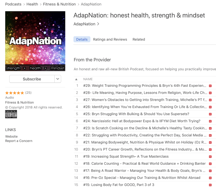 AdapNation Podcast