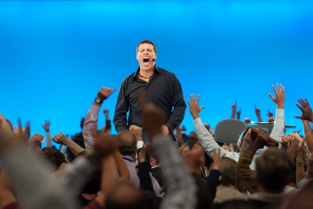 I found Tony Robbins in my early 20's. Growth truly excited me.