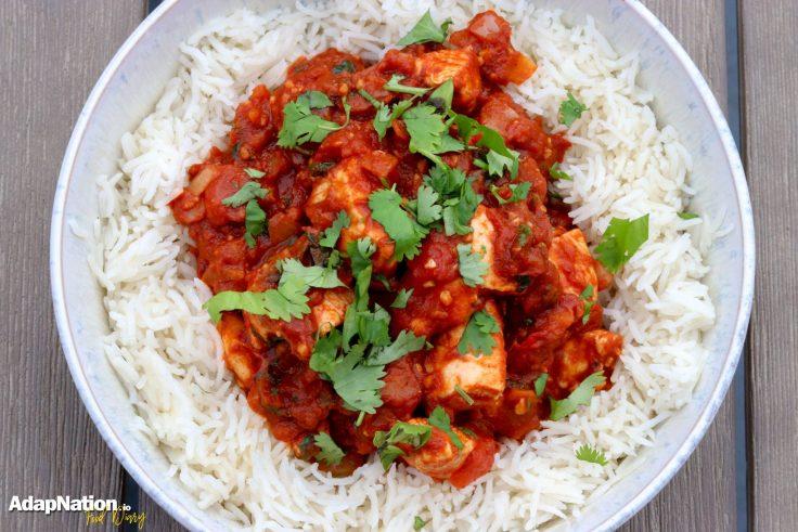 Indo-Italian Chicken Curry & Rice p4