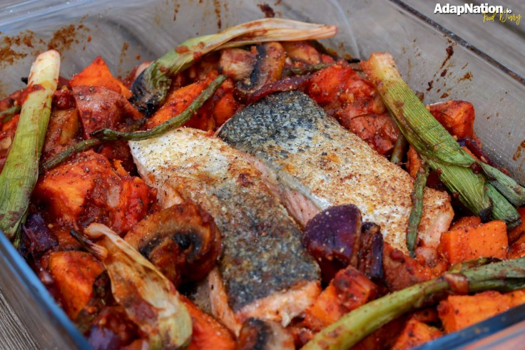 Michelle's Spicy Salmon & Sweet Potato Bake p3