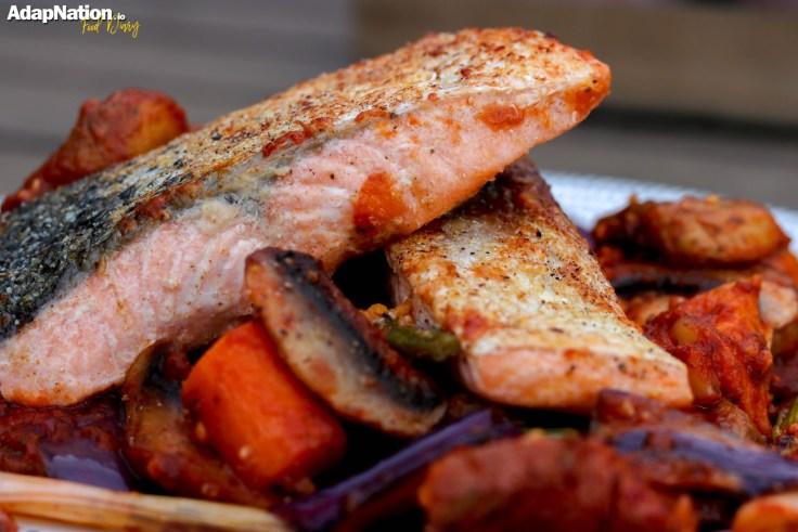 Michelle's Spicy Salmon & Sweet Potato Bake p2