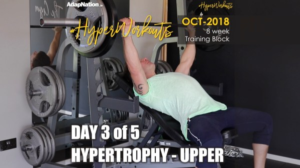 OCT-18 #HyperWorkouts - Hyper Upper