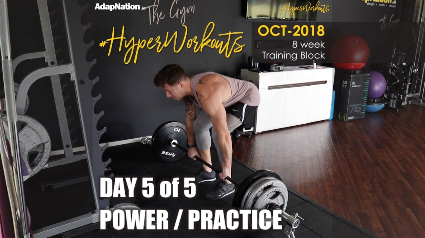 OCT-18 #HyperWorkouts Practice Power