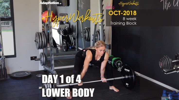 OCT-18 Ladies #HyperWorkouts - Day 1