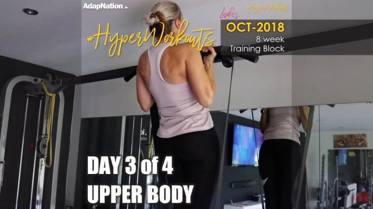 OCT-18 Ladies #HyperWorkouts - Day 3