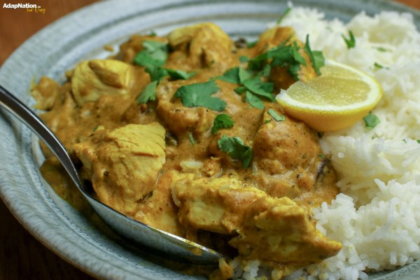 Delicious Home-Made Chicken Korma