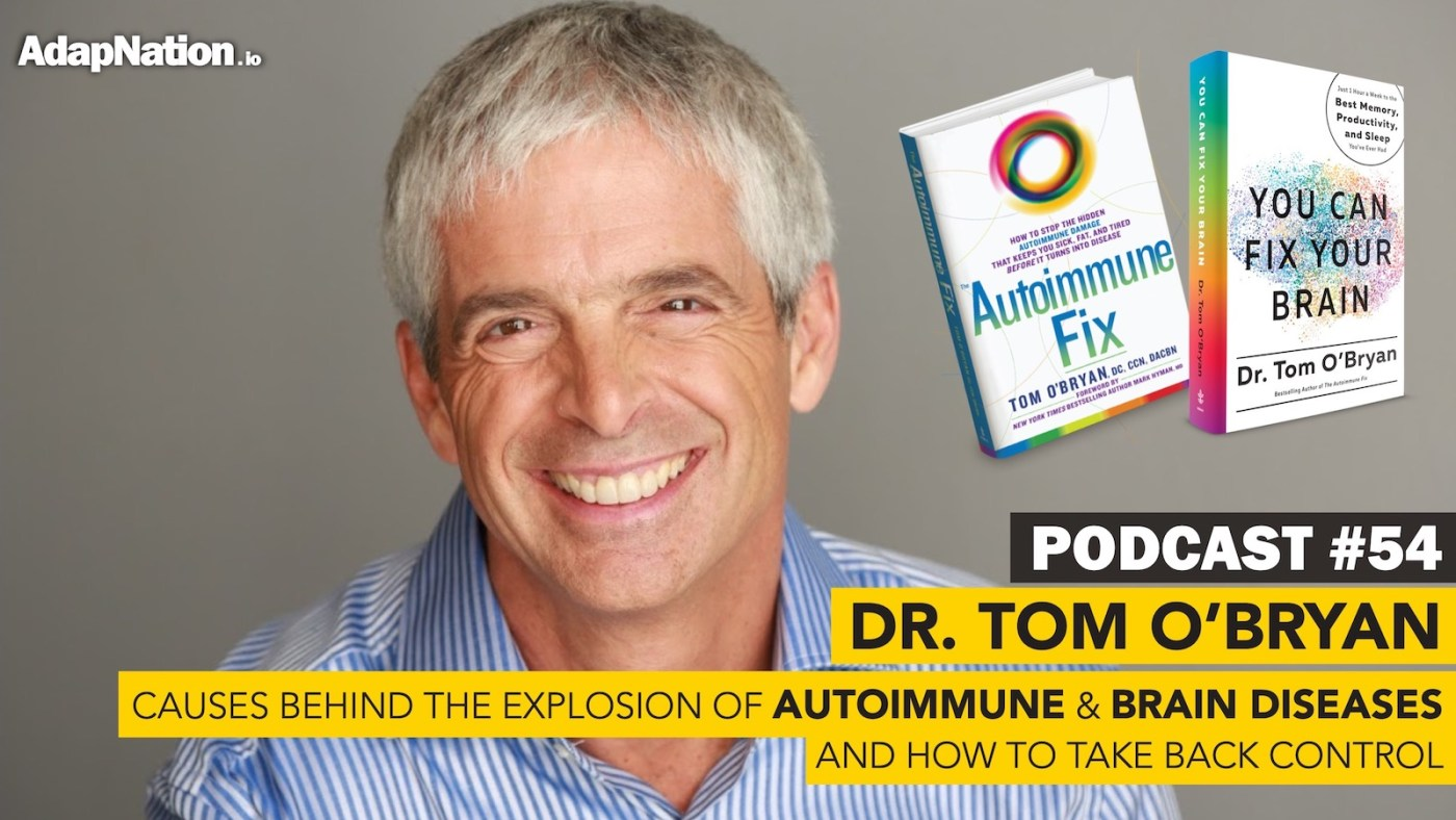 Tom O'Bryn Autoimmune Podcast