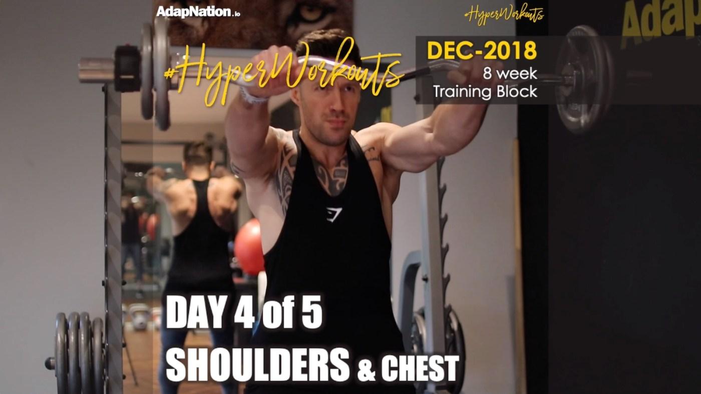 Gents DEC-18 #HyperWorkouts Shoulders