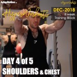 DEC-18 #HyperWorkouts – Day 4/5 – SHOULDERS