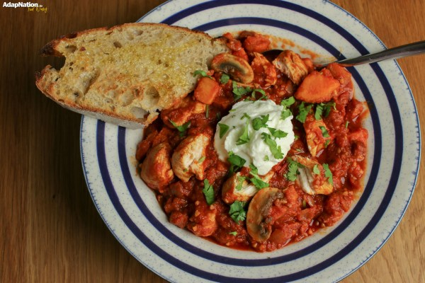 Smoky Chicken & Chorizo Stew - A Winter Warmer