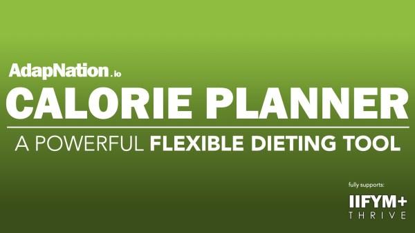 AdapNation Calorie Planner