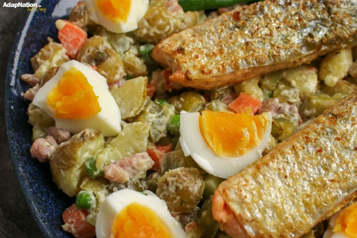 Crispy Salmon & Russian Salad p3