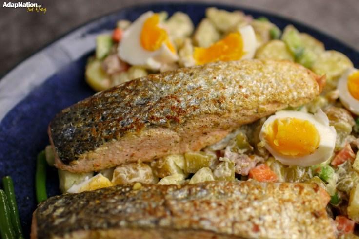 Crispy Salmon & Russian Salad p4