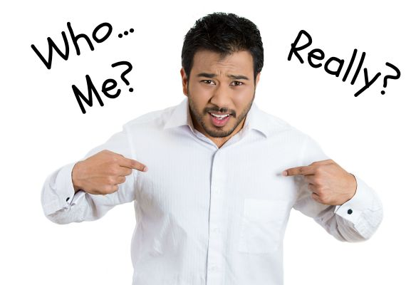 Who me, really?