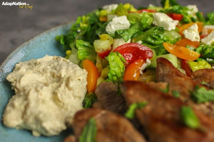 Mediterranean Lamb Steaks & Greek Salad p4