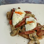 Devilled-ish Livers on Sourdough Toast