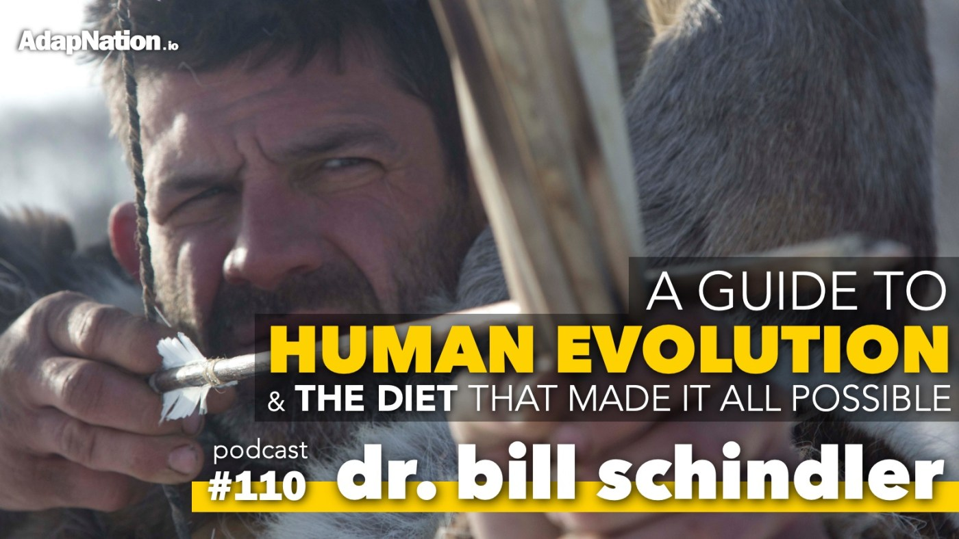 Dr Bill Schindler Dietary Evolution