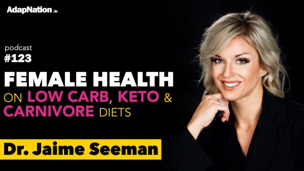 #123: Female Health on Low Carb, Keto & Carnivore Diets ~Dr. Jaime Seeman