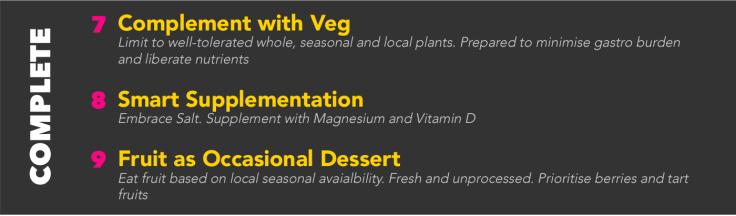#BeYourBest Nutritional Principles 7-9