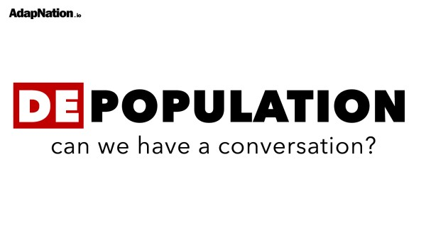 Depopulation: Can We Have A Conversation?
