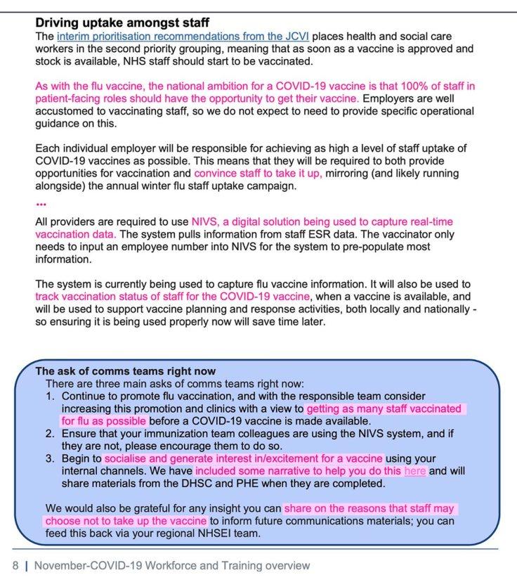 NHS Staff Training Propaganda