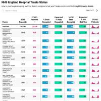 NHS England Hospital utilisation