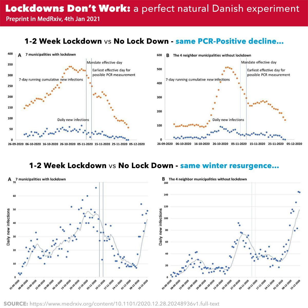 Danish COVID Lockdown Study