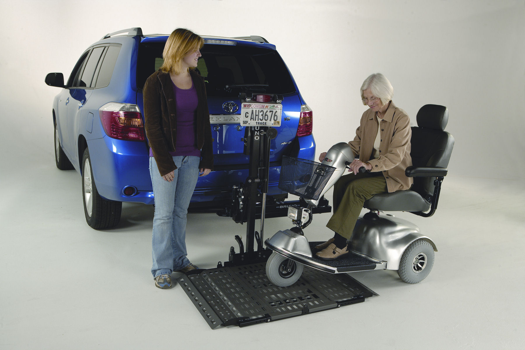 wheelchair lift for truck revolving chair quikr accessible trucks conversions