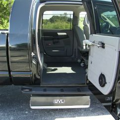 Wheelchair Lift For Truck Indoor Swing Chair Uk Accessible Trucks Conversions