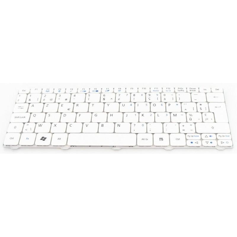 Acer Laptop Toetsenbord voor Acer Aspire One 532H Series Wit
