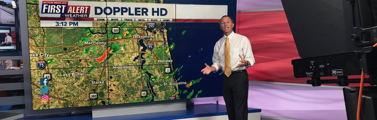 Mike Buresh is chief meteorologist at Jacksonville's CBS and FOX affiliate, Action News Jax.
