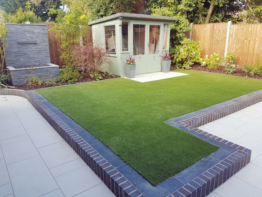 Modern Garden Design in Chandlers Ford  Hamphire  Adapt