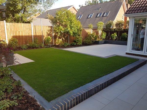 modern garden design in chandlers
