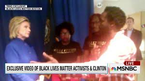 Hillary Clinton Meets with Black Lives Matter