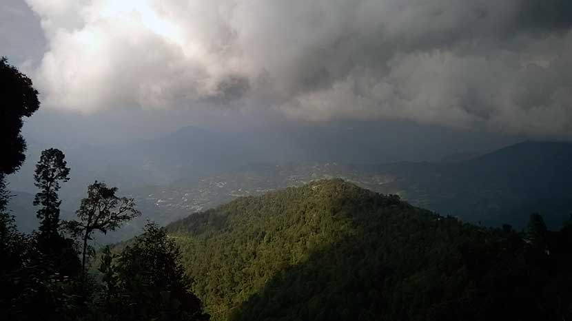 View from Rishyap