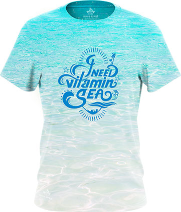 i-need-vitamin-sea-beach-tshirt