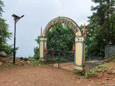 The Ashram entrance