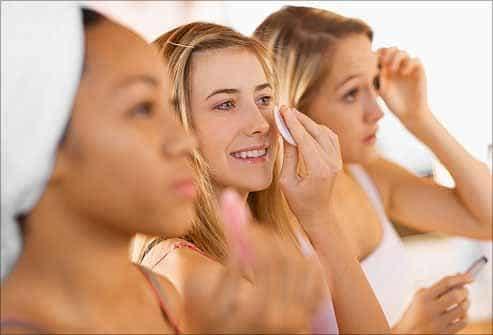 Уход за кожей лица в зависимости от ее типов